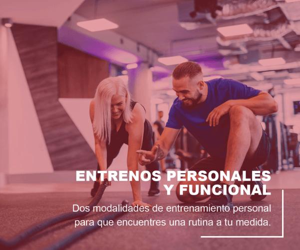 ENTRENOS PERSONALES Y FUNCIONALES